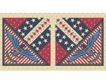 1 Panel from the Patriotic Collection by Quilts of Valor Foundation for Andover