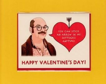 ARRESTED DEVELOPMENT VALENTINE - David Cross - Tobias Funke - Arrested Development - Valentine - Funny Valentine Card - Item V033