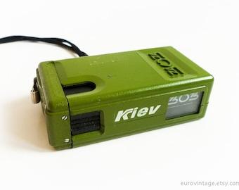Vintage Small Russian Lomo Spy Camera Kiev 303 Subminiature  Russian