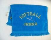 Softball sports towel