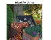 Pattern  - Shoulder Purse With Flap Closure - Medium - Karin Style - Digital