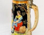 Musical Beer Stein Mug