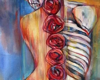 Día de los Muertos, Day of the Dead, Print #1