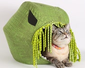 The Cat Ball Vs Cthulhu a Modern Bed for Steampunk Kitty