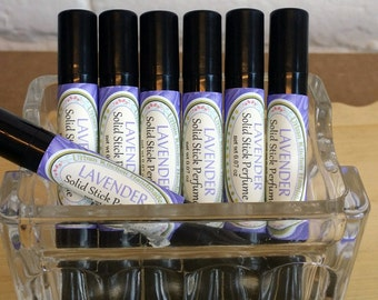 Lavender - solid perfume stick/ Perfume Stick / Lavender / Natural Perfume