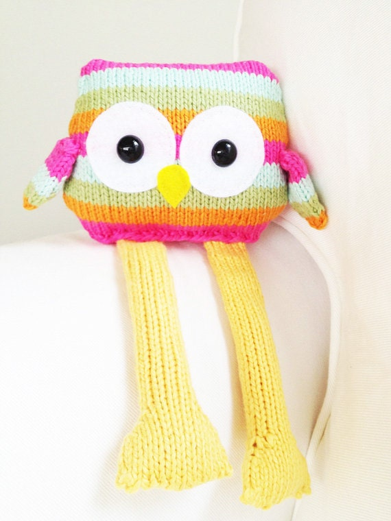 Free Knitted Toy Owl Patterns images