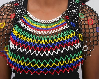popular items for zulu beaded on etsy