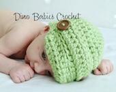 Newsboy Brimmed Hat for Baby Boy Infant Crochet Beanie