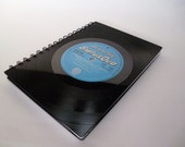 Journal Notebook Recycled Record Vintage Vinyl STATUS QUO Album LP a5 Unique Gift 1970s Blues Rock