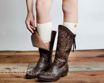 Women Leg Warmer, Women Boot Cuffs, Boot Cuffs With Buttons, Leg Warmer, Boot Socks, Knit Socks With Buttons