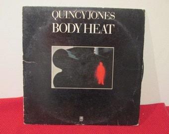 Quincy Jones Body Heat  Collectible Vinyl Record VG to EX Condition