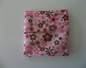 PUL Mama Pad Wrapper or Wet Bag - Flowers