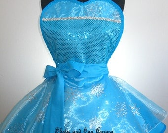 Queen Elsa Costume Apron