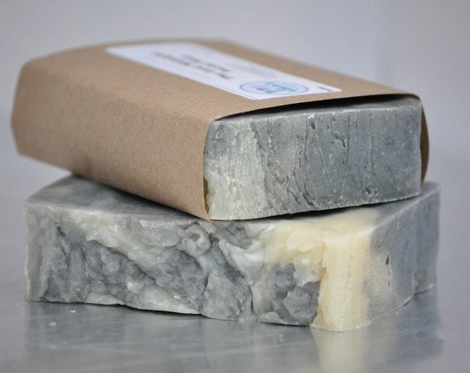 The Last Midnight Lavender Tea Tree Activated Charcoal Facial Soap -- All Natural Soap, Handmade Soap, Vegan Soap, Facial Soap