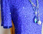 Blue beaded flapper dress 1920s bridesmaids dress 1920s dress wedding perfect party