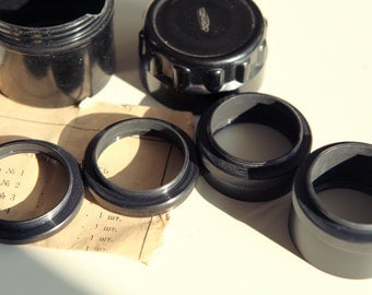 1971 Macro Step-up Extention Rings M39 Russian for FED Zorki Leica Cameras