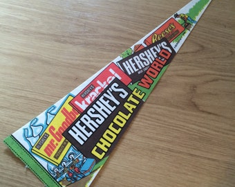 Hershey's Chocolate World Pennant