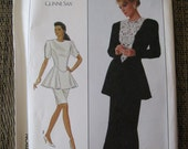 1988 Simplicity Pattern 8900 Misses' Size 12 Dress New