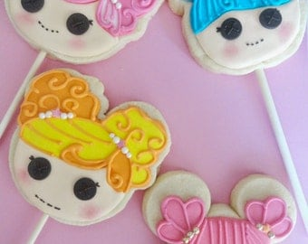 Lalaloopsy Cookie Favors