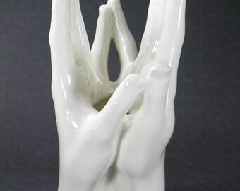 Double Hand Vase