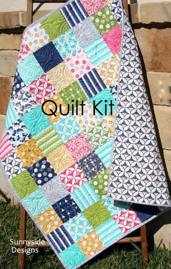 Do it yourself moda ideas de disenos ciboney last one modern quilt kit moda fabrics color theory vandco do it yourself moda solutioingenieria Images