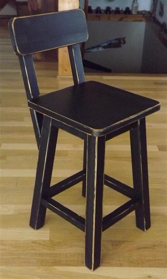 Reclaimed Wood Bar Stools ~ Items similar to reclaimed wood bar stool counter