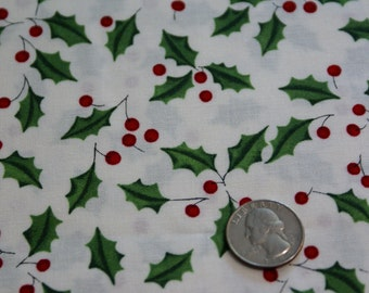 "1 1/2 Yards x 44""  Wide ""Merry Sprigs""  The Alexander Henry Fabrics Collection"