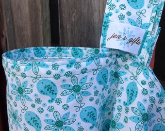 Nursing Cover Up, Breastfeeding Cover in Teal, Aqua