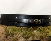 Jedi leather belt