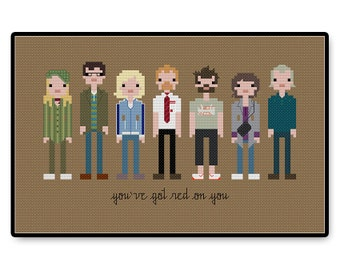 Shaun of the Dead - Cross Stitch PDF Pattern