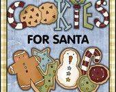 Cookies For Santa (Gift in a Jar graphics and recipe)