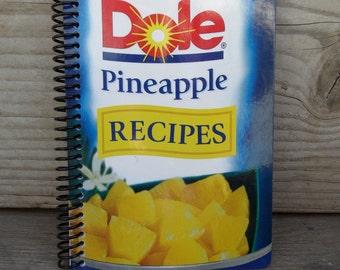 PINEAPPLE PEOPLE, hardcover rebound journal, unlined notebook