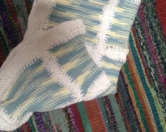 Sweet cotton baby blanket