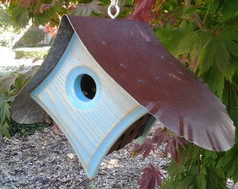 BIRD HOUSE with a View | Outdoor Bird Houses | Unique Birdhouse