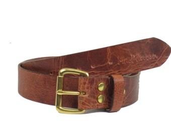Belt Leather Antique Buffalo