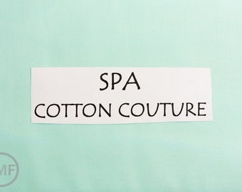 One Yard Spa Cotton Couture Solid Fabric from Michael Miller Fabrics, SC5333-SPAX-D
