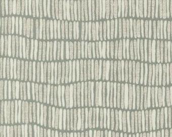 Shimmer Stripe in Shadow Metallic, Jennifer Sampou for Robert Kaufman Fabrics, 100% Cotton Fabric, AJSP-14252-304 SHADOW