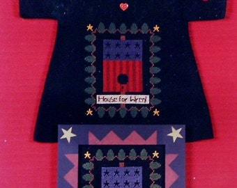75%OFF Stitches From The Heartland HOUSE FOR Wrent - Counted Cross Stitch Pattern Chart
