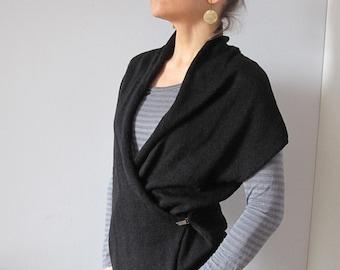 Items similar to criss cross stitch crochet cardigan vest on etsy