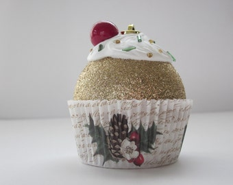 Cupcake Ornaments / Christmas Ornaments