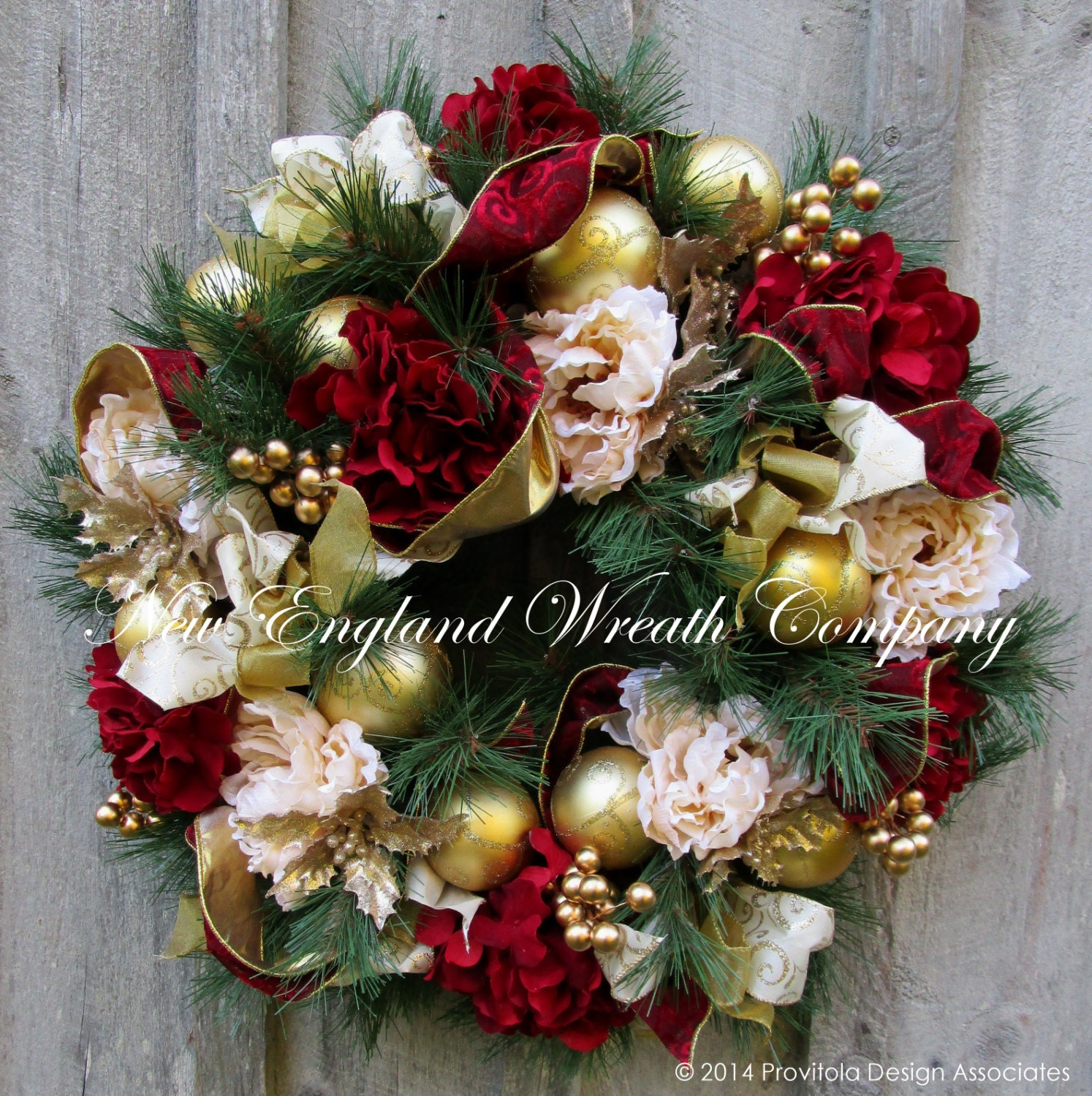 Christmas Wreath Holiday Wreath Designer Christmas Wreath