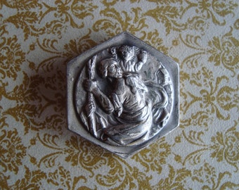 Vintage St Christopher Finding/Piece - As Found