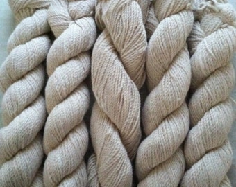 Natural Alpaca Yarn - White