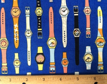 Swatch Watch Fabric YARD