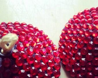Fire Nipple Tassels fully rhinestoned any colour