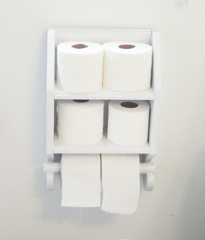 Toilet Paper Holder Toilet Paper Shelf Wooden Toilet Paper