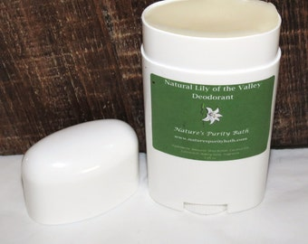 Natural Lily of the Valley Scented Deodorant Stick - Full size