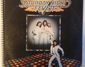 Saturday Night Fever Recycled Record Album Cover Book
