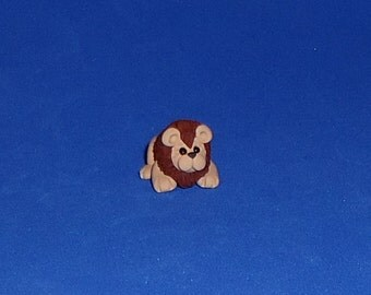 Polymer Clay IttyBitty Lion