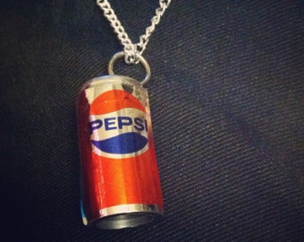 Miniature Soda Can Necklace